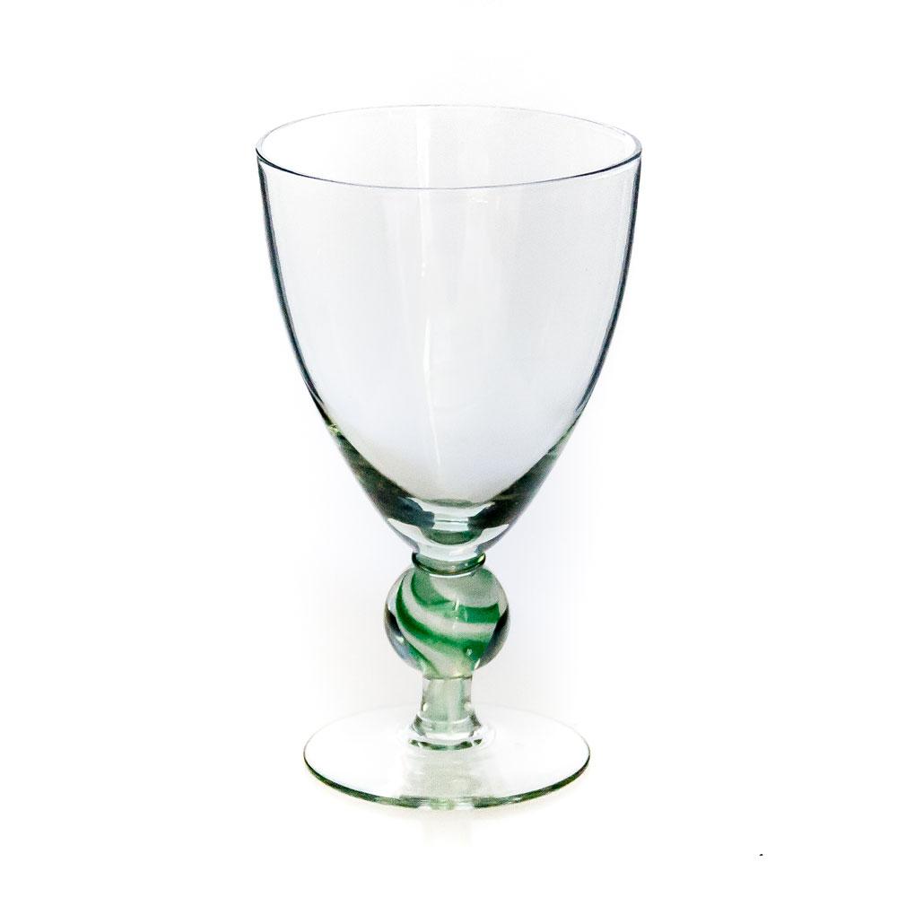 Montecasino Red Wine Colour Stem Green & White