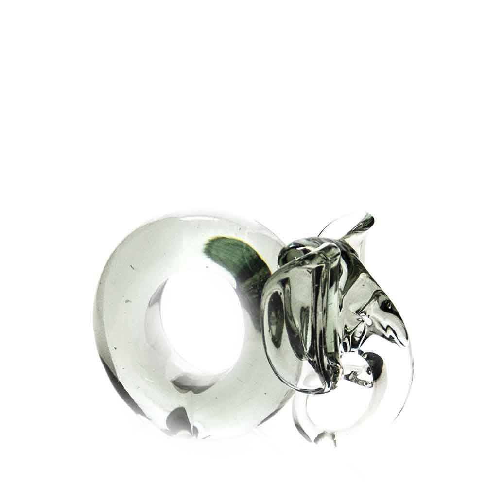 Mini Elephant Glass Napkin Ring
