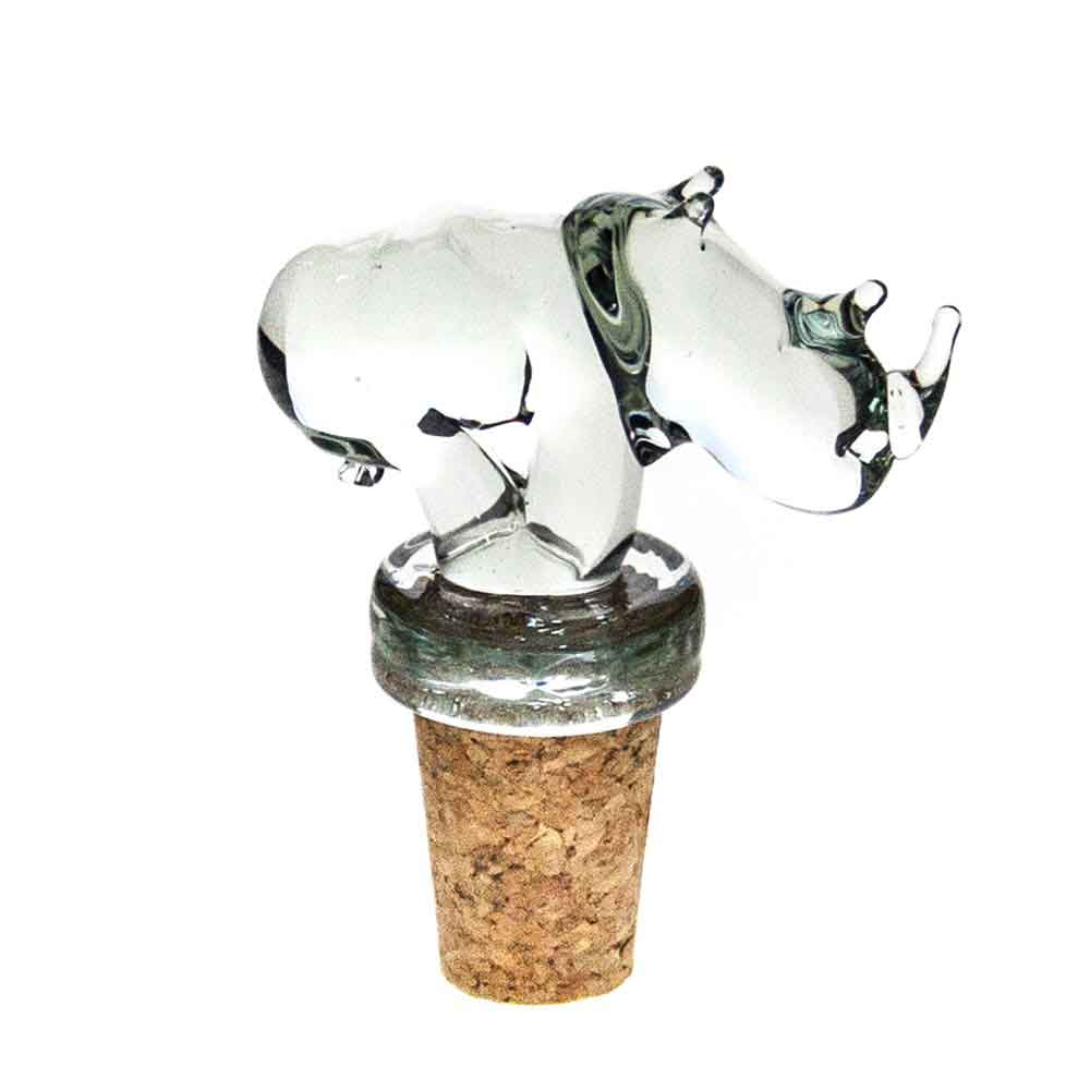 Mini Rhino Wine Stopper
