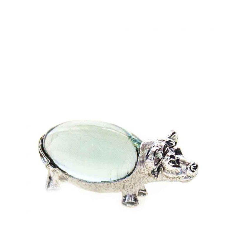Small Oval Buffalo Pewter body