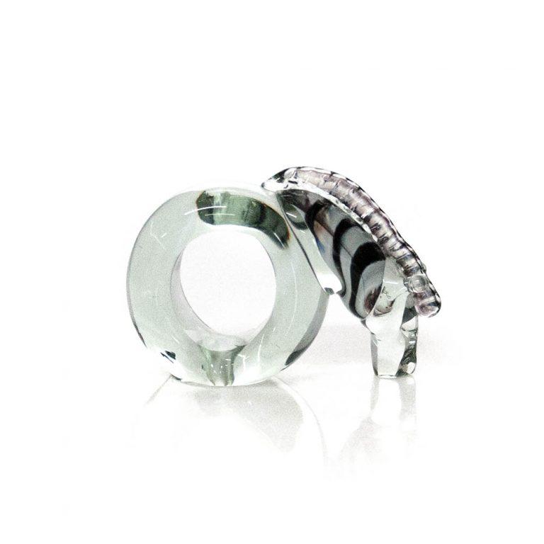 Napkin ring Zebra colour