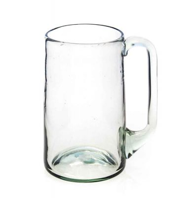 Beermug (large) with glass handle
