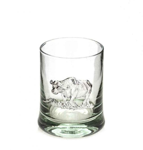 Whiskey Tumbler Pewter Buffalo