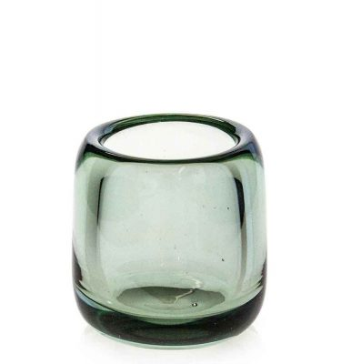 Clear Tea Light Candle Holder