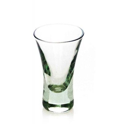 Small Evergreen glass