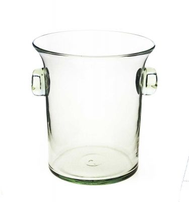 Ice bucket with Glass Handles