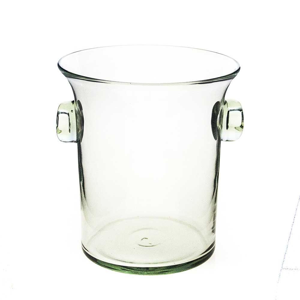 Ice bucket with Glass Handles