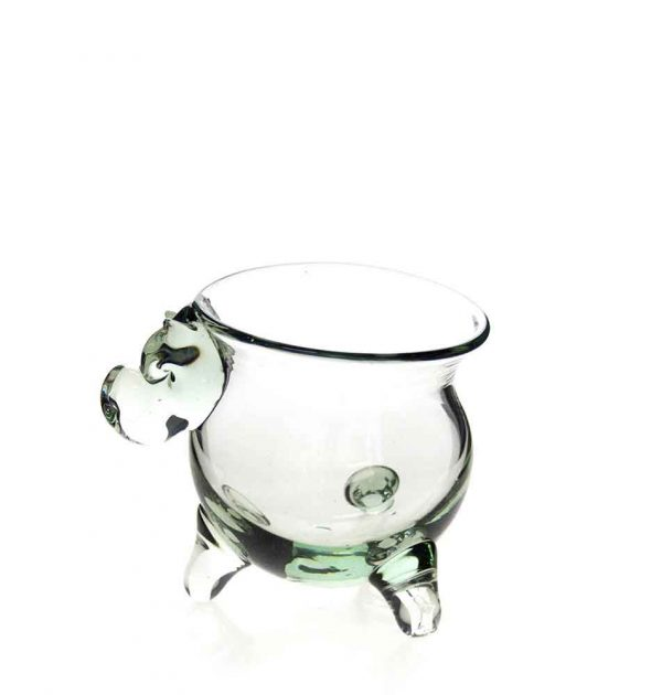 Med Potjie Pot with Hippo Head