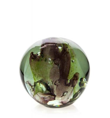 Medium Coloured Paperweight