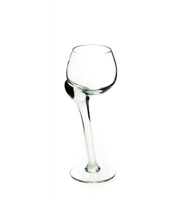 Crooked sherry glass