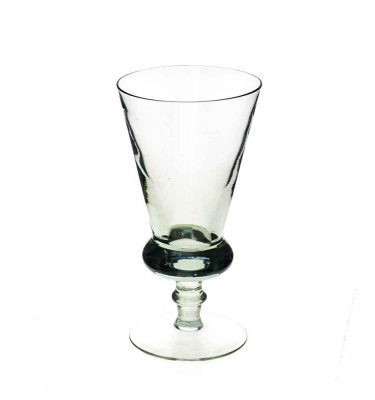 Thistle wine goblet