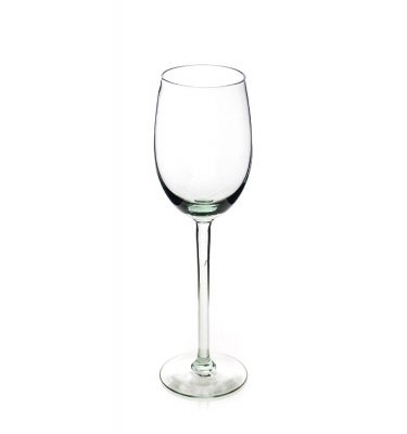 Tulip white wine glass
