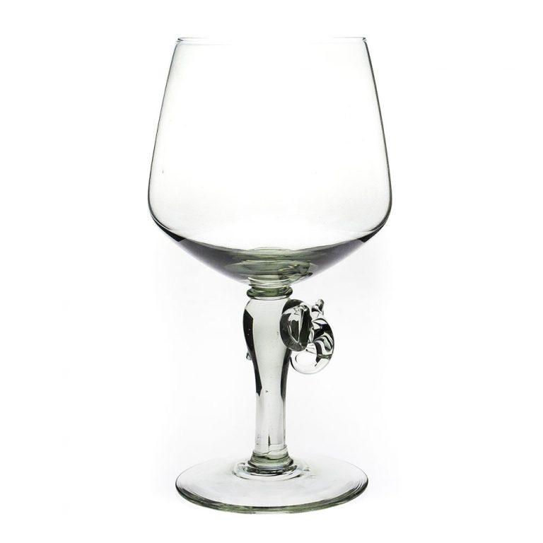 Vulindlela Elephant stem red wine glass