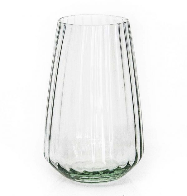 Vulindlela optic tall tumbler clear
