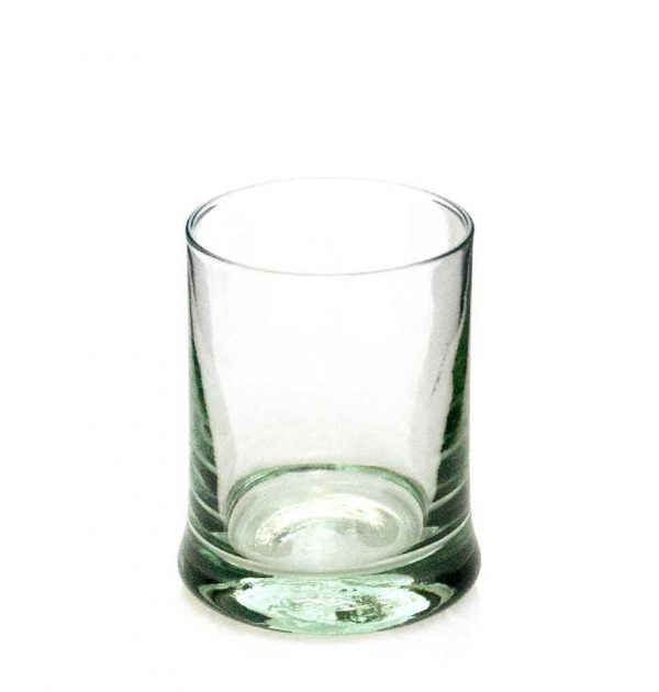 Heavy base whiskey glass