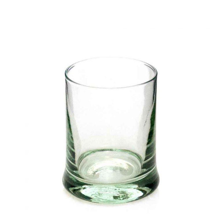 Heavy base whiskey glass